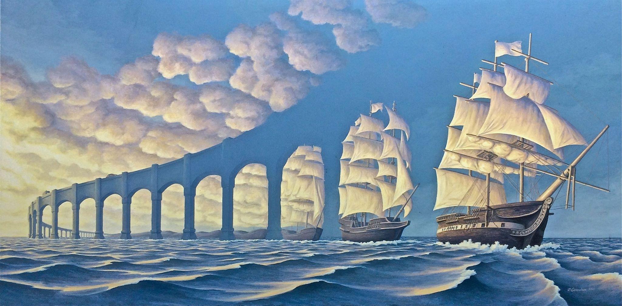 A Modern Surrealist Painter Picks Up Where Dali Left Off