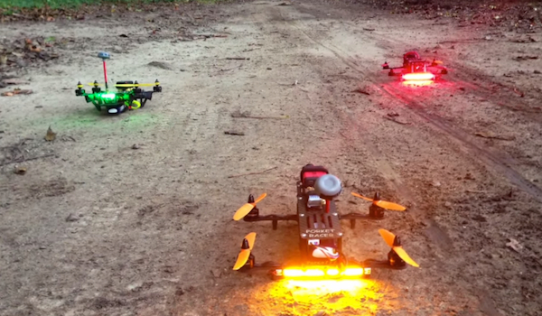 What FPV Racing Looks Like from the Quadcopter's POV